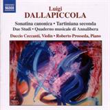 Sonatina canonica - Tartiniana seconda