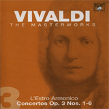 Concerto No. 4 Op. 3 in E minor RV550 for 4 violins, strings & b.c. - 2. Allegro assai
