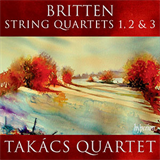 Britten String Quartet No 3 Op 94 - 1 Duets With moderate movement