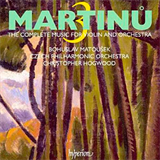 Martinu ESuite Concertante for Violin and Orchestra F III