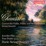 Concert for Violin Piano and String Quartet - String Quartet