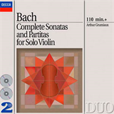 Complete Sonatas and Partitas for Solo Violin CD 1