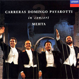 Ténors - Pavarotti, Domingo, Carreras
