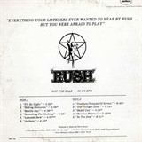 Everything Your Listeners Ever Wanted To Hear By Rush... But You Were Afraid To Play