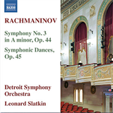 Symphony No3 Symphonic Dances
